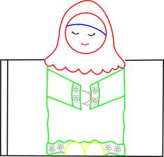 Musalli Kiz Eid Crafts, Ramadan Crafts, Ramadan Decorations, Ramadan Activities, Back To School Activities, Toddler Activities, Muslim Prayer Mat, Islam For Kids, Learn Islam