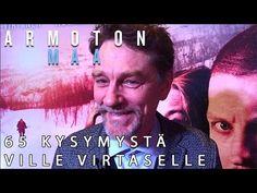 Armoton maa -elokuvan Ville Virtanen vastasi 65 kysymykseen, katso video! ARMOTON MAA elokuvateattereissa nyt. @NordiskFilmFi