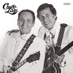 Chester & Lester - Chet Atkins & Les Paul:  Two of the Greatest, if not THE greatest guitarists that ever lived.  Separately they were great.  Together they were incomparable!