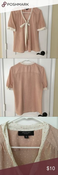 Jason wu for target pink polka dot t-shirt Jason wu for target pink polka dot t-shirt jason wu for target Tops Blouses
