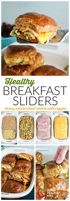 Healthy Breakfast Sliders Easy breakfast idea for kids Super Healthy Kids Food and Drink How To Make Breakfast, Breakfast For Dinner, Best Breakfast, Breakfast Recipes, Breakfast Healthy, Wedding Breakfast, Breakfast Ideas For Kids, Healthy Meals For Kids, Kids Meals