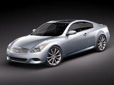 Infiniti G37 Coupe 3D Model - 3D Model