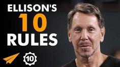Larry Ellison's Top 10 Rules For Success (@larryellison) - YouTube