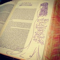 Journaling Esther.
