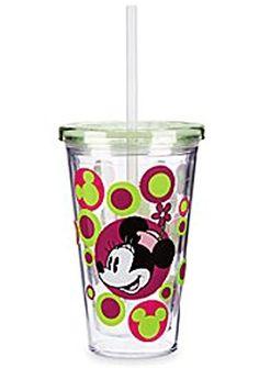 Disney Parks Exclusive Minnie Mouse Tumbler Disney Parks