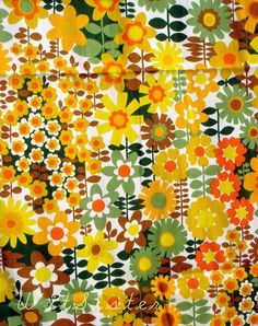 daisy fabric - Google Search