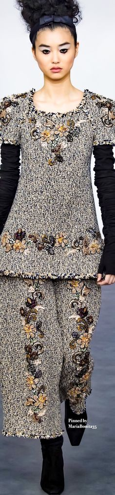 Chanel Fall-2016 Couture Collection Highlights