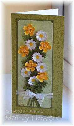 Mainly Flowers Independent Stampin' Up! Demonstrator Joanne Gelnar: Buttercups and Daisies