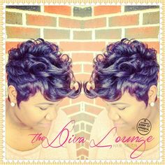 The Diva Lounge Hair Salon Montgomery, AL Larnetta Moncrief / Stylist, Owner Dope Hairstyles, My Hairstyle, Short Hairstyles For Women, Mixed Hairstyles, Short Sassy Hair, Short Hair Cuts, Pixie Cuts, Curly Hair Styles, Natural Hair Styles