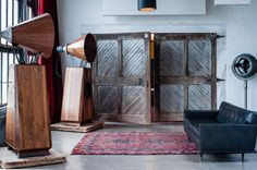 Make a statement with OMA's Walnut AC1 loudspeaker | #DesignLUX and the Media Room