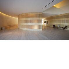John Pawson designed lobby of the Hotel Puerta America, Madrid.