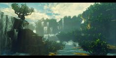Tree Environment - (Polycount, 2014)