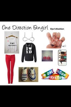 One Direction I will get all this outfit and wear them all in one day!