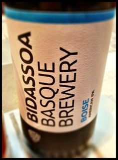 El Alma del Vino.: Bidassoa Basque Brewery Boise AIPA.
