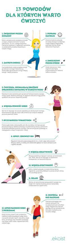 13 powodów dlaczego warto ćwiczyć