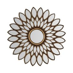 An elegant addition to any wall, the sunburst design and metallic finish of this mirror makes it a wonderful feature in your bedroom, dining room, hallway or living space.