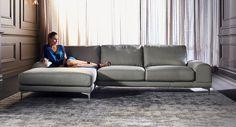 Bettina leather lounge