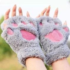 Texture: velvet  Color Classification:  Full-finger catlike - beige,  Full-finger catlike - brown,  Full-finger catlike - gray,  Half Finger catlike - brown,  Half Finger catlike - beige,  Half Finger catlike - Gray