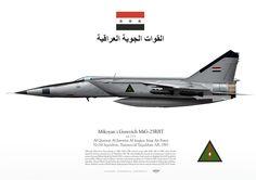 Iraqi Air Force . القوة الجوية العراقية No.84 Squadron. Tammuz/al-Taqaddum AB, 1985