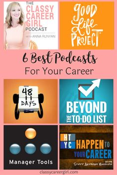 Looking to be more productive whenever and wherever you are? Here are some of the best podcasts to listen to for your career.
