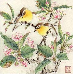 Jinghua Gao Dalia.      Chinese Brush Painting