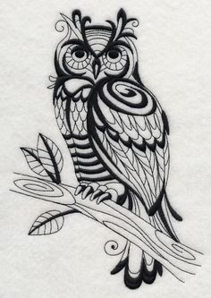 embroidery owl pattern free - Buscar con Google