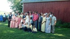 A Outdoor Barn Wedding In Amish Country