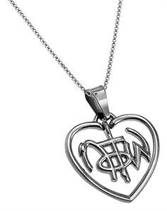 NOTW Heart necklace