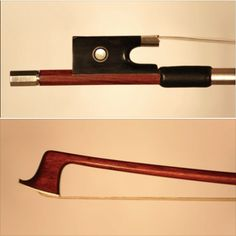 A nickel-mounted French #violin bow by Louis Morizot is available for examination and trial.