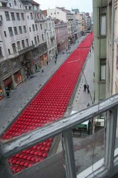 Thousands of red chairs are standing empty along Sarajevo's main avenue on Friday as Bosnia and Herzegovina commemorates the 20th anniversary since the start of the country's war. A classical orchestra will play a concert for the 11,541 empty seats, one for each civilian killed during a near-four-year siege of the city by Bosnian Serb forces, which became a symbol of the 1992-1995 conflict.