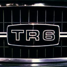 TR6 grill