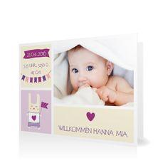 Geburtskarte Willkommen mit Wimpeln in Vanille - Klappkarte flach #Geburt #Geburtskarten #Mädchen #Foto #kreativ #modern https://www.goldbek.de/geburt/geburtskarten/maedchen/geburtskarte-willkommen-mit-wimpeln?color=vanille&design=20ea0&utm_campaign=autoproducts