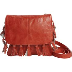 Latico Leathers Vale Crossbody ($155) ❤ liked on Polyvore featuring bags, handbags, shoulder bags, red, leather purses, leather cross body purse, crossbody shoulder bags, leather crossbody handbags and leather cross body handbags