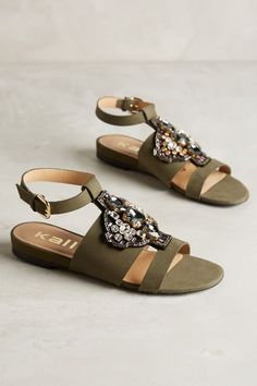 Kalliste Victorian Sandals - anthropologie.com