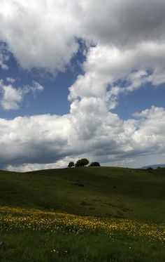 Google+ Natural Colors [Pratomagno, Tuscany, in a cloudy day of June]