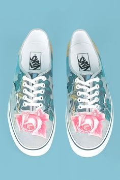 OPENING CEREMONY & MAGRITTE THE BLOW TO THE HEART VANS CANVAS SNEAKERS - WOMEN - OPENING CEREMONY & MAGRITTE