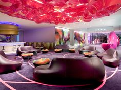 Design Contract invites you to find one of the best Berlin hotels, a special one designed by renowned interior designer Karim Rashid, NHow Berlin Hotel Karim Rashid, Unique Hotels, Beautiful Hotels, Best Hotels, Luxury Hotels, Luxury Getaways, Amazing Hotels, Beautiful Space, Nh Hotel