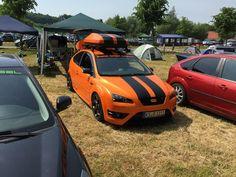 Electric Orange Ford Focus ST mk2 Tuning