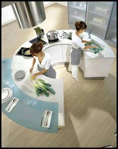 a kitchen that was actually designed to be used!