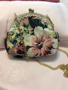 Handmade crossbody Prom wedding Easter evening bag vintage