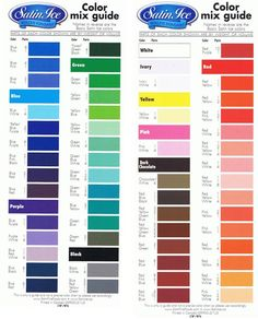 color mixing... this site is for fondant, but I'm think the color chart is pretty universal. Cake Decorating Techniques, Cake Decorating Tutorials, Cookie Decorating, Cookie Tutorials, Decorating Supplies, Baking Supplies, Color Mixing Guide, Color Mixing Chart, Colour Chart