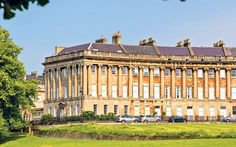 House for sale on the Royal Crescent, Bath, Somerset