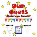 Use these banners to help students think about their goals for the year. Put them all together to create a fun and motivating classroom display. $2.00