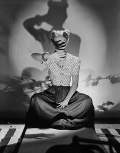 Bunny Hartley for Vogue, 1938. Photographed by Horst P. Horst.