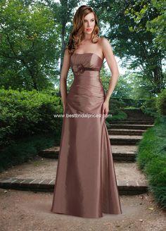 Mocha Evening Dress Colors Accessories