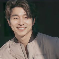 Gong Yoo Smile, Goong Yoo, Squid Games, Instyle Magazine, Lee Dong Wook, Googie, Male Beauty, Korean Actors, Celebrity Crush