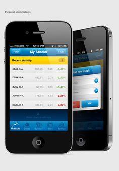 Croatian Market Portfolio iPhone App