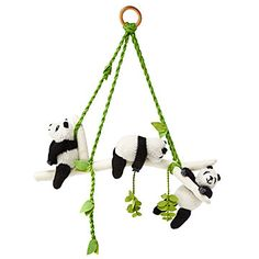 panda mobile brings a lazy touch of storybook style to your little one's nursery or playroom. Baby Shower Gifts, Baby Gifts, Panda Bebe, Panda Panda, Panda Baby Showers, Panda Nursery, Nursery Themes, Nursery Ideas, Nursery Room