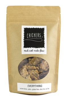 CRICKERS | Everything Cracker - 8 oz bag