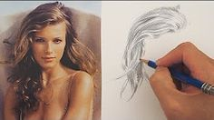 drawing hair - YouTube
